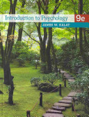 e-Study Guide for: Introduction to Psychology by James W. Kalat, ISBN 9780495810919