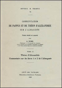 Commentaires sur les livres 1 et 2 de l'Almageste