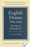 English Drama 1586-1642