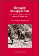 Battaglie sull'Appennino. Storia della prima divisione britannica (agosto 1944-gennaio 1945)