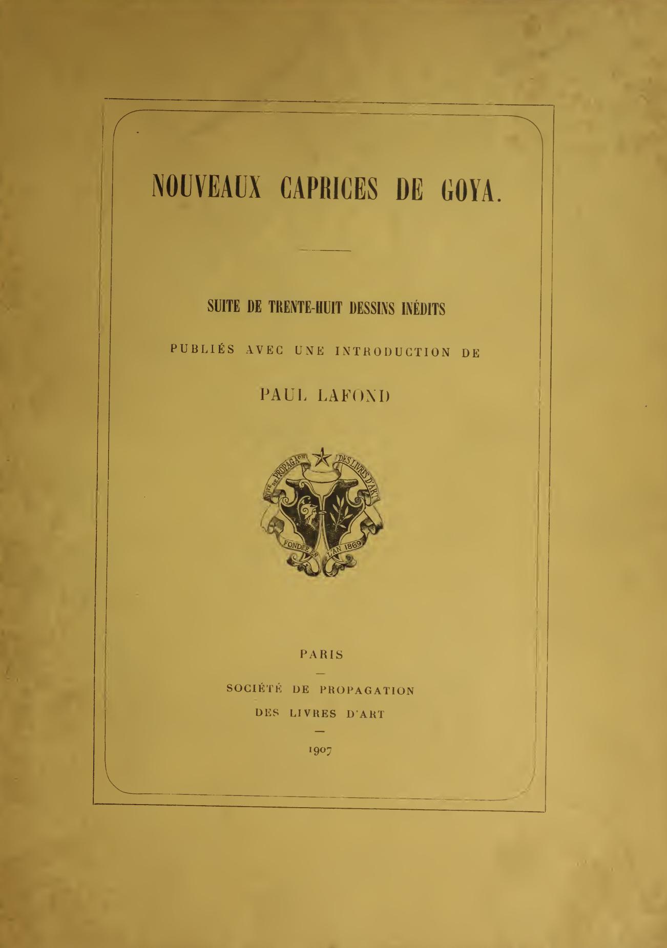 Nouveaux Caprices de Goya