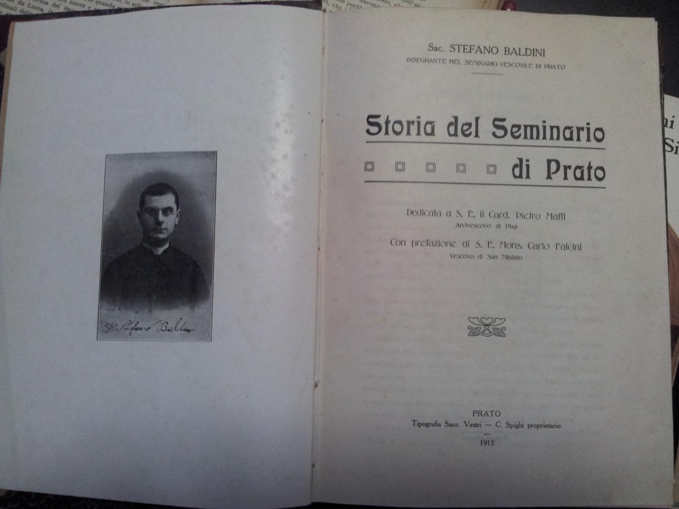 Storia del seminario di Prato