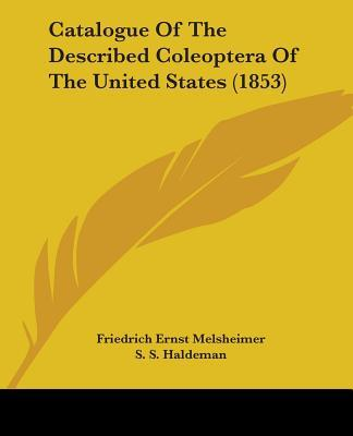 Catalogue of the Described Coleoptera of the United States (1853)