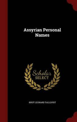 Assyrian Personal Names