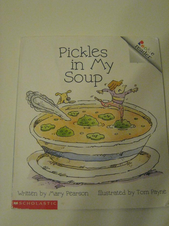 Pickles in my soup