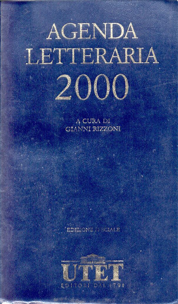 Agenda letteraria 2000