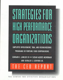 Strategies for high performance organizations