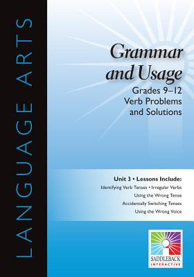 Verb Problems and Solutions Interactive Whiteboard Resource
