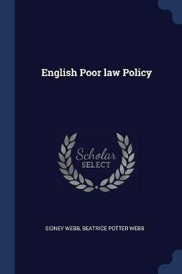 English Poor law Policy