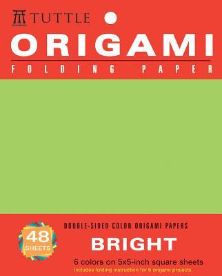Origami Folding Paper Bright 5x5 inch 48 Sheets