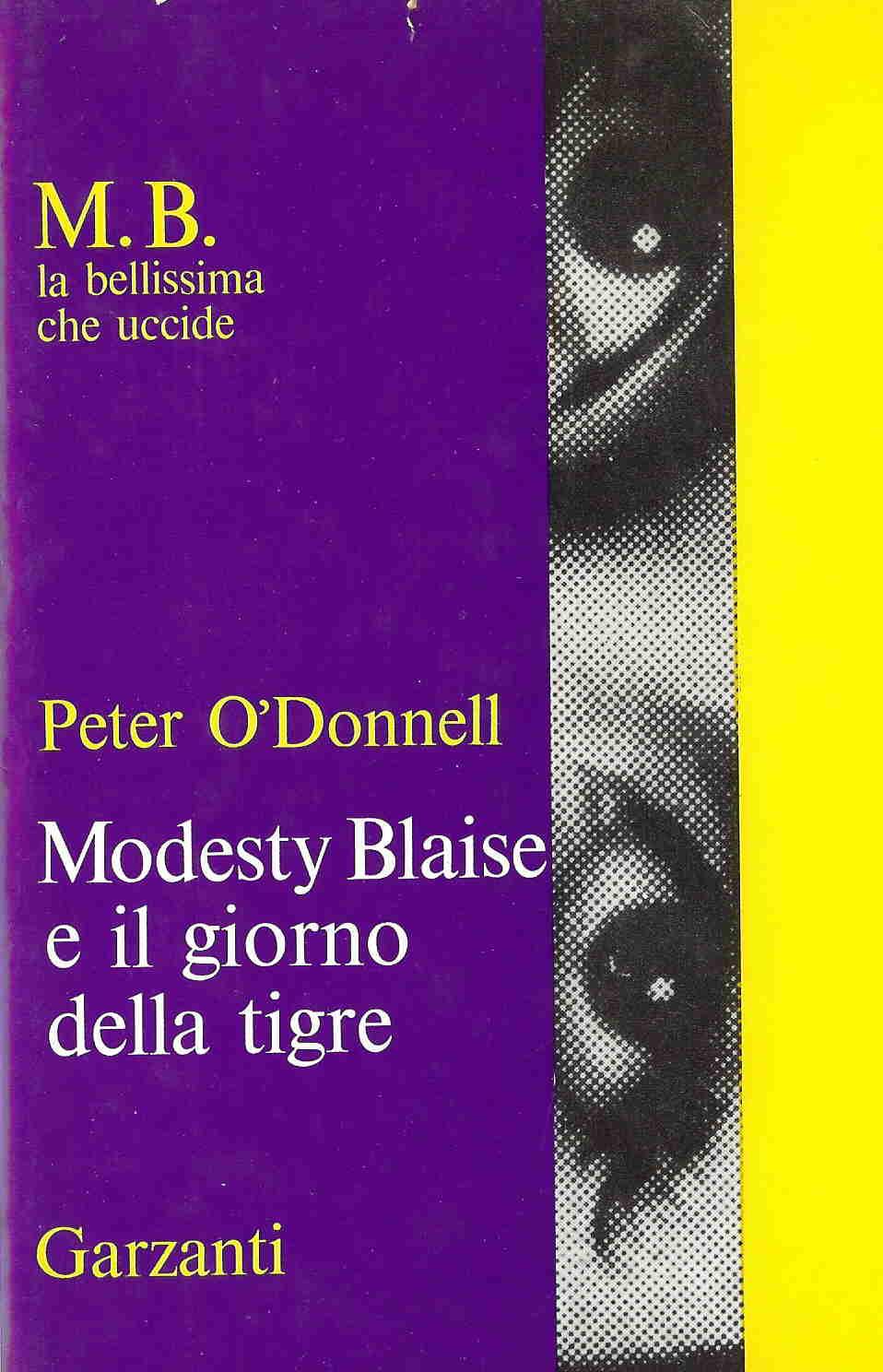 Modesty Blaise e il giorno della tigre