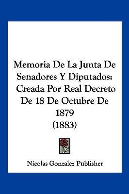 Memoria de La Junta de Senadores y Diputados