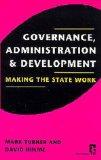 Governance, Administ...