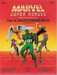 The Ultimate Powers Book