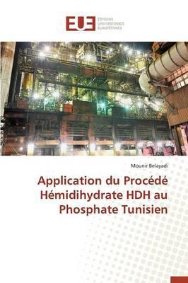 Application du Procede Hemidihydrate Hdh au Phosphate Tunisien