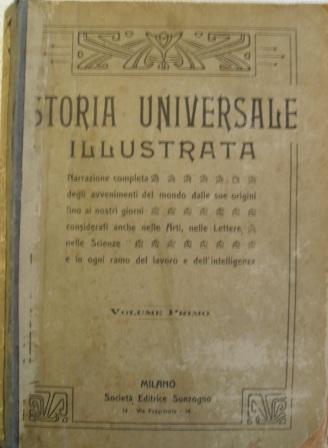 Storia universale illustrata - volume I.