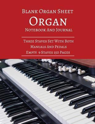 Blank Organ Sheet Or...