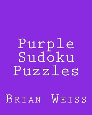 Purple Sudoku Puzzles