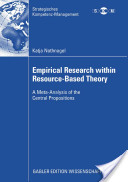 Empirical Research Within Resource-Based Theory