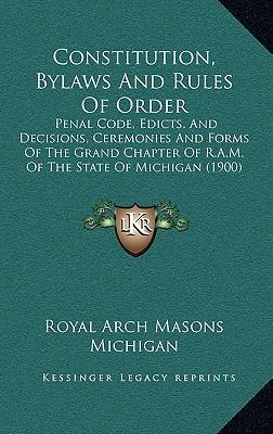 Constitution, Bylaws and Rules of Order