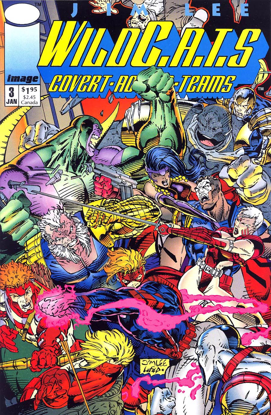 WildC.A.T.s 3, January 1993