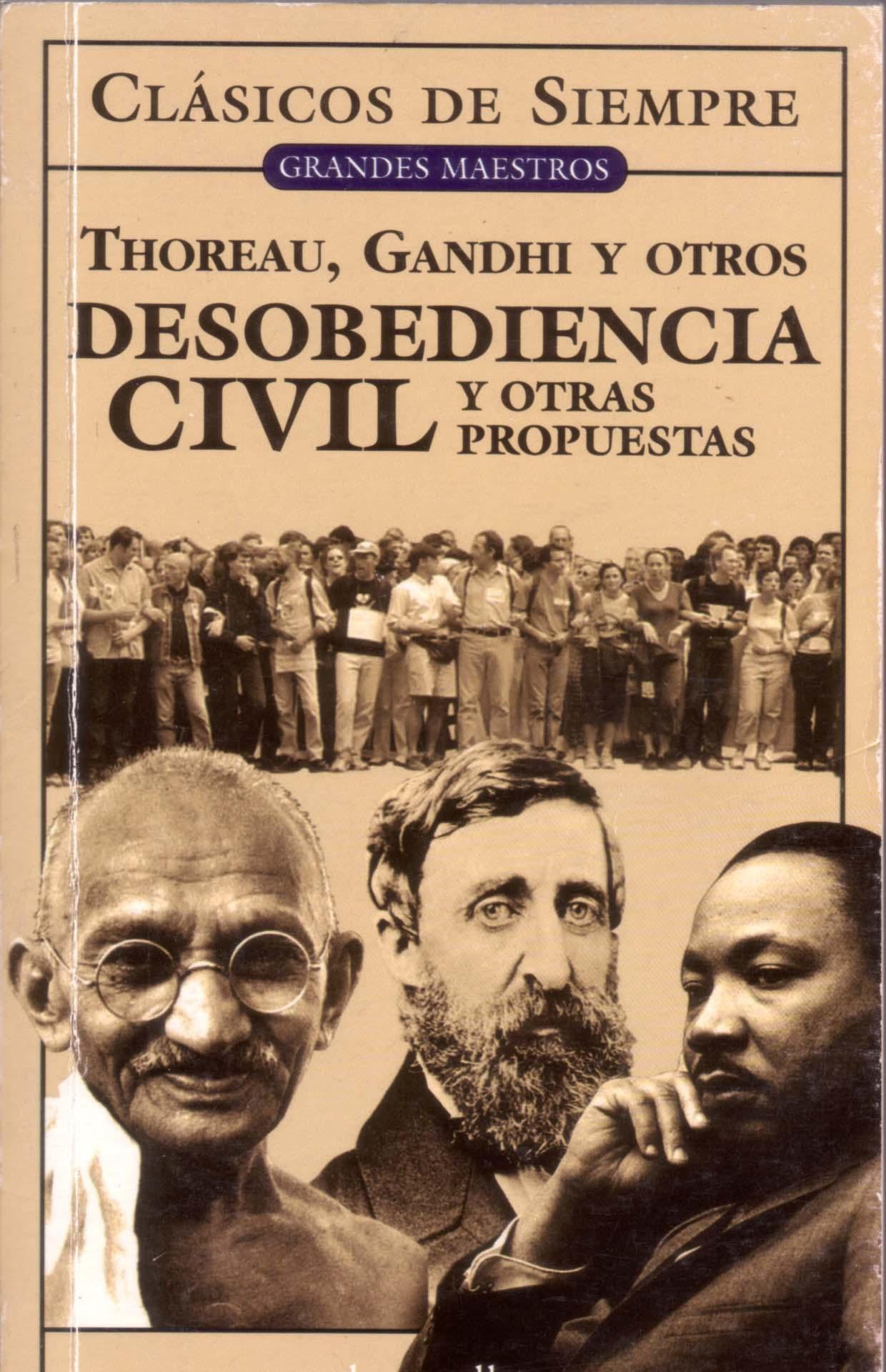 Desobediencia civil ...