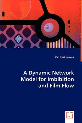 A Dynamic Network Model for Imbibition