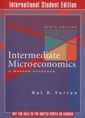Intermediate Microeconomics