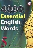 4000 ESSENTIAL ENGLISH WORDS. 5