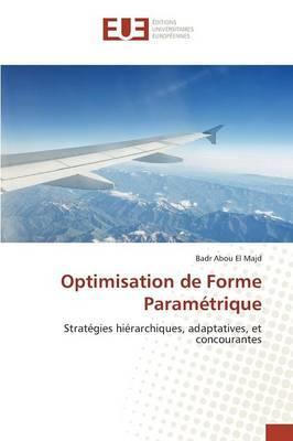 Optimisation de Forme Parametrique