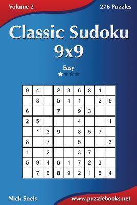 Classic Sudoku 9x9 - Easy - 276 Puzzles