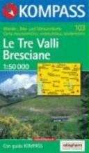103: Le Tre Valli Bresciane 1:50, 000