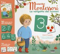 La valigetta dei numeri. I miei libri Montessori. Con 21 Carte