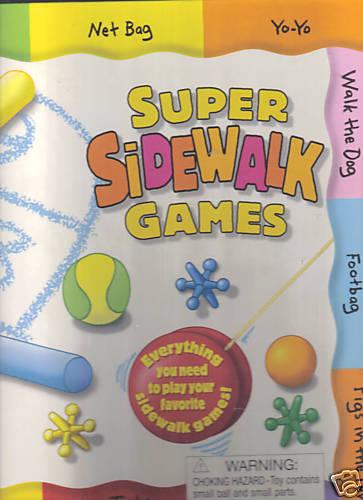 Super Sidewalk Games