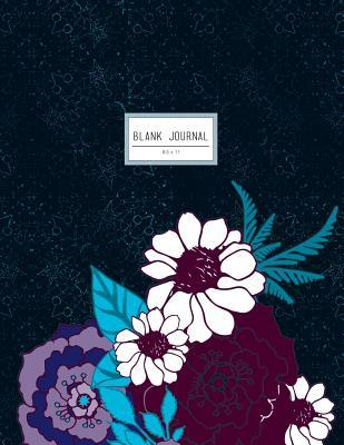Dark Blue Floral Bla...