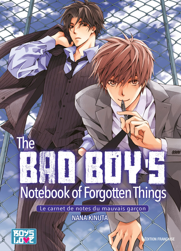 The Bad Boy's Notebook of Forgotten Things