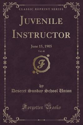 Juvenile Instructor,...