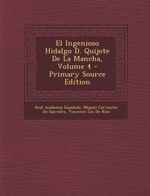 El Ingenioso Hidalgo D. Quijote de La Mancha, Volume 4