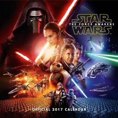 Star Wars Episode 7 calendar Official 2017 Calendar (The Force Awakens Wall Calendar)