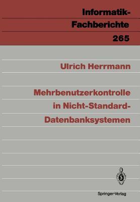 Mehrbenutzerkontrolle in Nicht-Standard-Datenbanksystemen