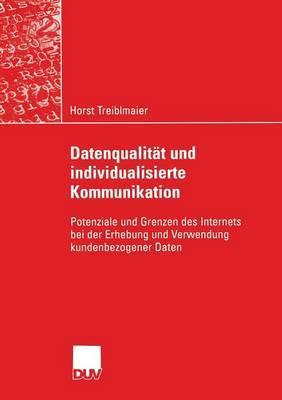 Datenqualität Und Individualisierte Kommunikation