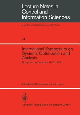 International Symposium on Systems Optimization and Analysis