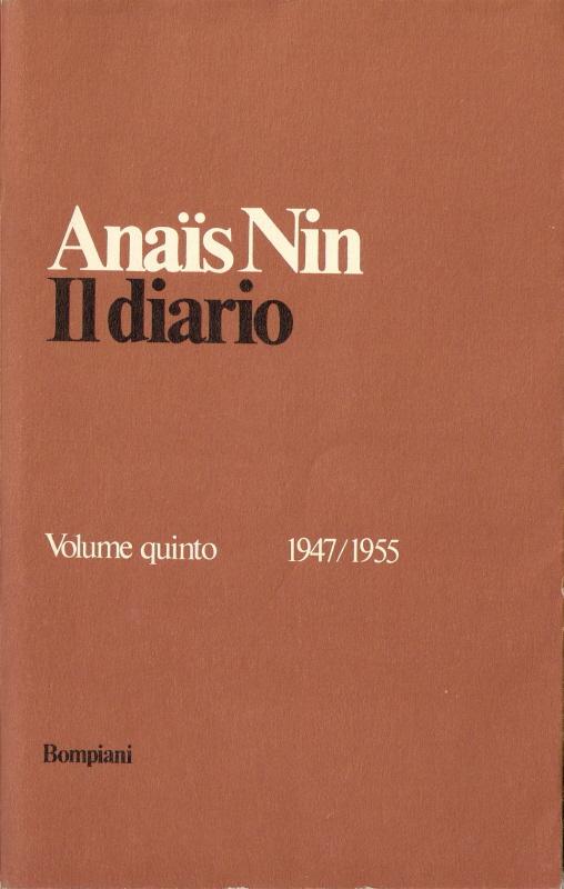 Il diario (Volume V)