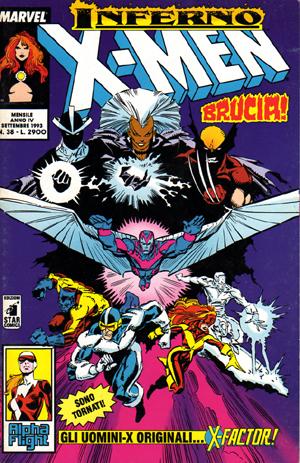 Gli Incredibili X-Men n. 038