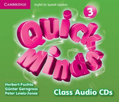 Quick Minds Level 3 Class Audio CDs (4) Spanish Edition
