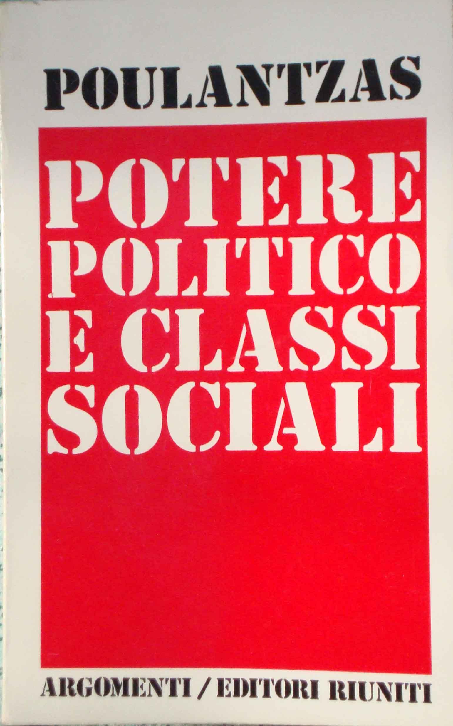 Potere politico e cl...
