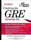 Cracking the GRE Psychology Test, 6th Edition