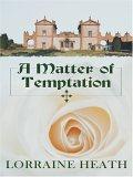 Thorndike Romance - Large Print - A Matter of Temptation