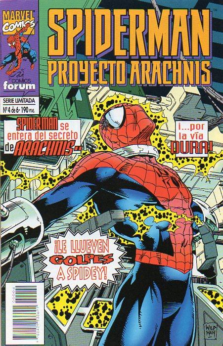 Spiderman: Proyecto Arachnis #4 (de 6)