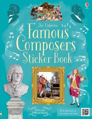 Famous Composers Sticker Book (Sticker Books)